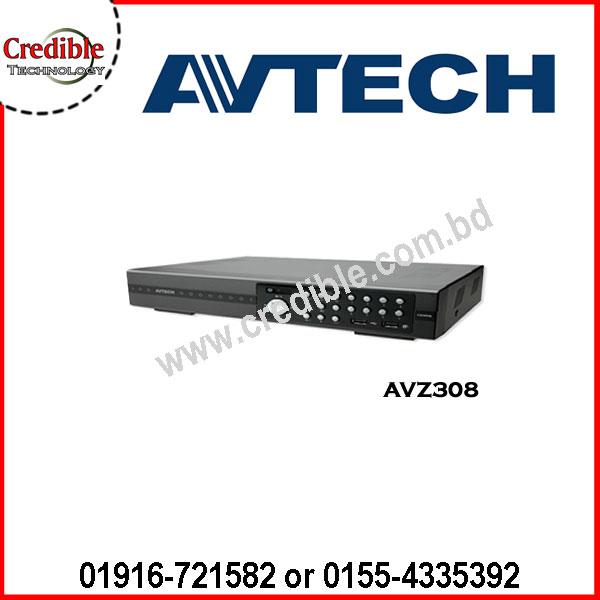 Avtech AVZ308 QUADBRID 8CH HD CCTV DVR