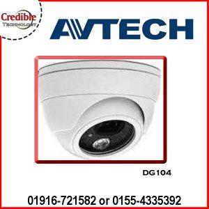 DG104 Avtech HD CCTV IR Dome Camera
