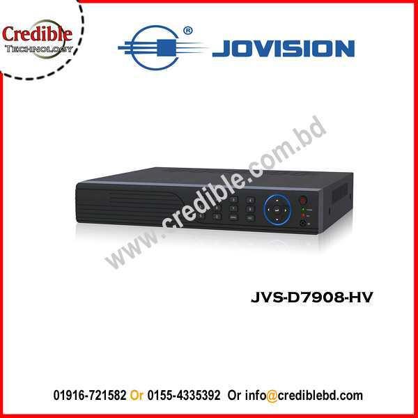 JVS-D7908-HV Jovision8 Channel HD CVI DVR