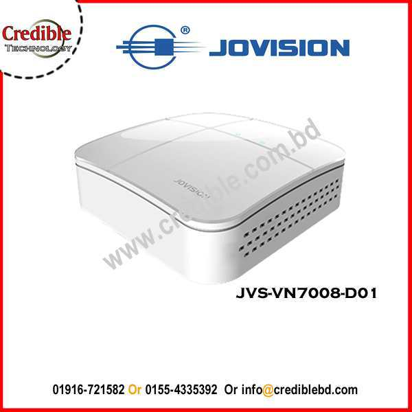 JVS-VN7008-D01 Jovision 8Ch NVR