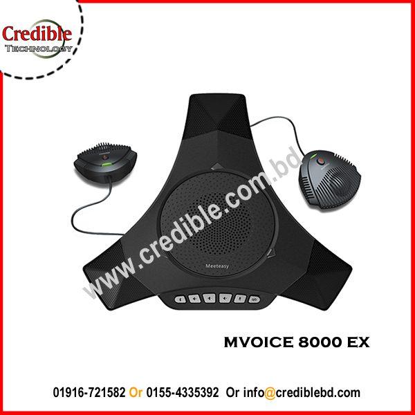 MVOICE 8000 EXExpandable USB Speakerphone