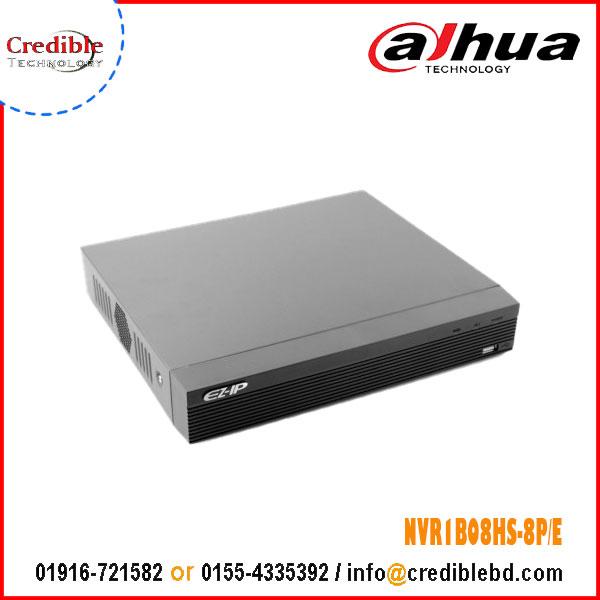 Dahua NVR1B08HS-8P/E
