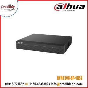 Dahua NVR4208-8P-4KS2